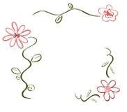 Deco de la flor del resorte Imagen de archivo libre de regalías