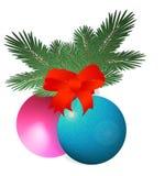 Deco de la Navidad Imagen de archivo