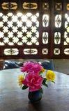 Deco dell'interno del caffè di Chiang Mai Thailand fotografie stock