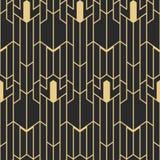 Deco der abstrakten Kunst nahtloses Muster Stockbilder