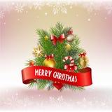 Deco di Natale Fotografia Stock