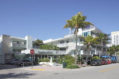 Deco Drive Cigars Ocean Drive. MIAMI - JANUARY 12: Deco Drive Cigars has three locations in the South Beach areas offering high quality speciality cigars and Stock Image