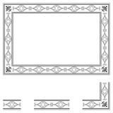 Deco frame Royalty Free Stock Photos