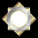 Deco frame & tile design royalty free stock image