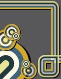 Deco geométrico Imagem de Stock