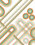 Deco geométrico Imagenes de archivo
