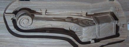 Deco gesneden malenmachine Royalty-vrije Stock Afbeelding