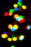 Deco Lights. Blurry pattern of many decoration lights royalty free stock images