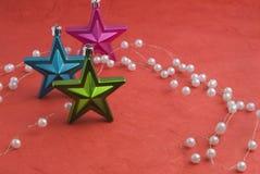 Deco stjärnor royaltyfria foton