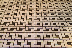 Deco Style Tile Floor Stock Image