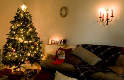 Deco van Kerstmis Stock Foto
