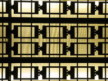Deco Window Bars Royalty Free Stock Image
