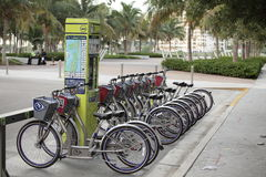 Decobike Rental station Royalty Free Stock Photo