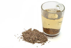 Decoction of dill seeds Royalty Free Stock Photography