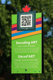 Decoding Art Sign Stock Images