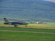 Decolagem dos aviões Foto de Stock Royalty Free