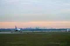 Decolagem em JFK Imagens de Stock Royalty Free