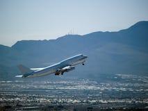 Decollo del Jumbo-jet Fotografia Stock Libera da Diritti