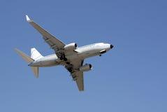 Decollo dell'aeroplano Immagini Stock