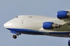 Decollo veloce del jet immagini stock libere da diritti