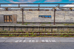 Decomissioned Railway Station Royalty Free Stock Image