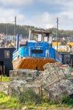 Decommissioned Fischerboot Stockfotografie