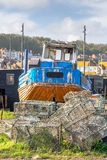 Decommissioned fishing boat Stock Photography