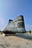 Decommissioned Królewska Malezyjska marynarka wojenna podwodny Agusta 70 Zdjęcie Stock