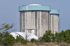 Decommissioned Nuclear Reactors Stock Photography