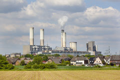 Decommissioned Power Station Stock Image