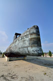 Decommissioned Royal Malaysian Navy submarine Agusta 70 Stock Photo