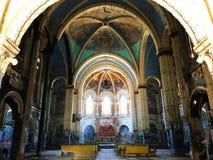 Deconstructed kyrka Fotografering för Bildbyråer