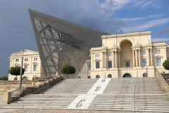 Deconstructivism in der Architektur Stockfotografie