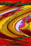 Deconstructivist Art Composition lizenzfreie abbildung