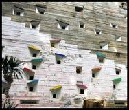 Deconstructivist okno obraz stock