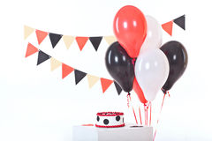 Decor for baby`s or child`s Birthday party Royalty Free Stock Photography