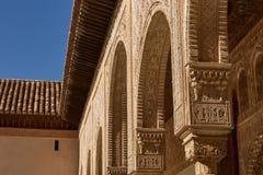 Decor binnen Binnenplaats van de Mirte Patio DE los Arrayanes i royalty-vrije stock fotografie