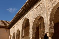 Decor binnen Binnenplaats van de Mirte Patio DE los Arrayanes i royalty-vrije stock afbeeldingen