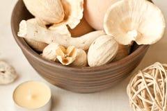Decor in ceramic Stock Photos