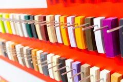 Decor clorful palette Stock Photo