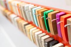 Decor clorful palette Stock Photos