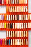 Decor clorful palette Stock Images