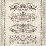 Decor elements1 Royalty Free Stock Images