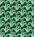 Decor fern green D Stock Image