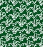 Decor fern green D Stock Image