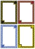 Decor frames Stock Photography