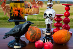 The decor and gifts for Halloween Stock Images