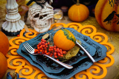 The decor and gifts for Halloween Royalty Free Stock Images