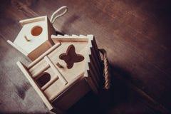 Decor het nestelen doos Stock Foto