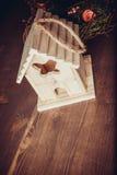 Decor het nestelen doos Stock Foto's